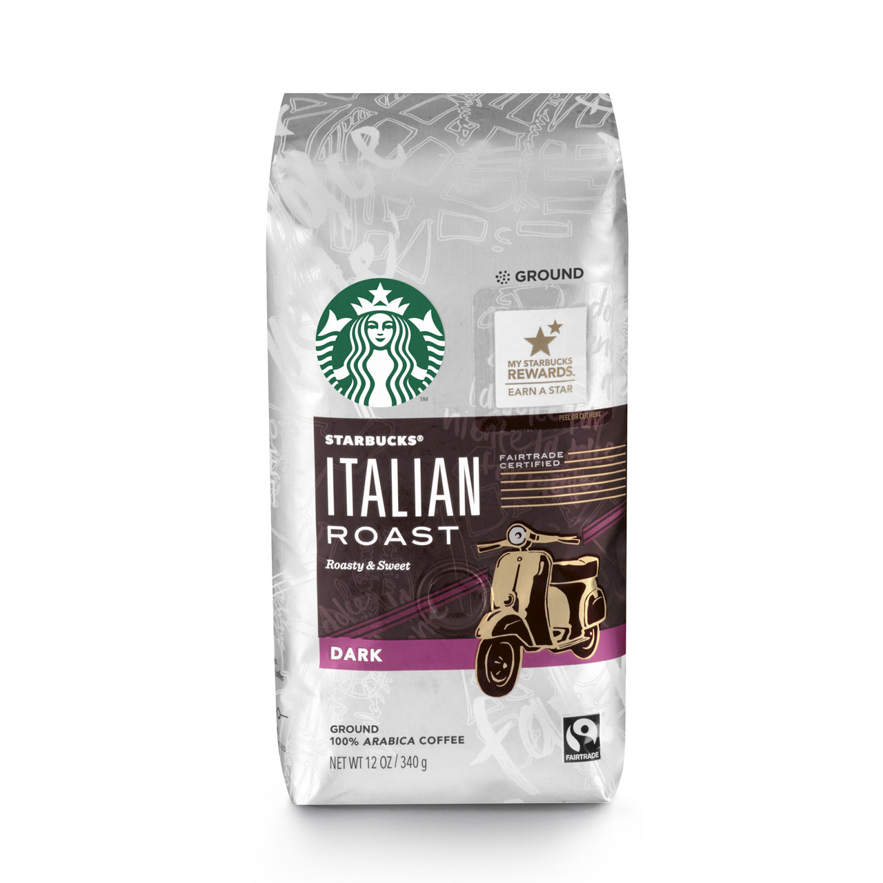 Кофе в зернах Starbucks Italian Roast 340 гр., США