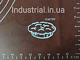 Силиконовый коврик для раскатки и выпечки теста 60-42 см Коричневый, фото 5