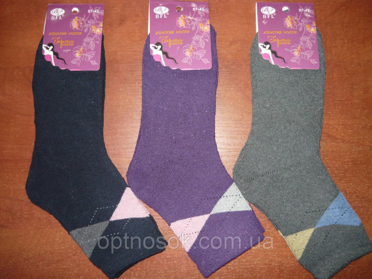 """Шкарпетки махрові жіночі """"BFL"""".р.37-41."""