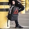 Чорний рюкзак рібок, Reebok. Для навчання, тренувань!, фото 6