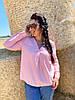 Трендовая блуза с V-вырезом, фото 4