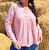 Трендовая блуза с V-вырезом, фото 5
