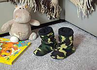 """Детские домашние тапочки td 09 """"Military"""""""