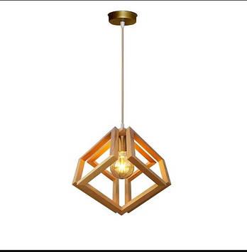 Люстра Подвесная  натуральное дерево/loft освещение