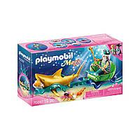 """Ігровий набір """"Нептун у возі з акулами"""" Playmobil (4008789700971), фото 1"""