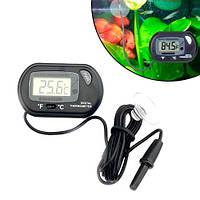 Термометр цифровой для аквариума с ЖК-дисплеем и выносным датчиком
