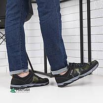 Кроссовки мужские камуфляж зеленый оттенок 40,41,45р, фото 3