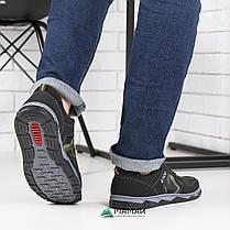 Кросівки чоловічі камуфляж зелений відтінок, фото 3