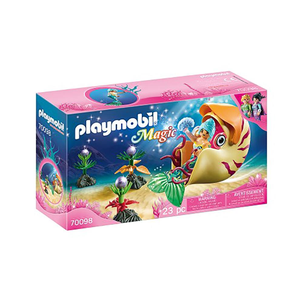 """Игровой набор """"Русалка и морская повозка"""" Playmobil (4008789700988)"""