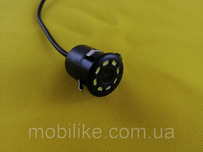 Автомобильная камера заднего вида  8LED желтый