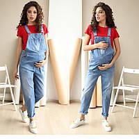 Комбинезон для беременных 4232420-22, джинсовый