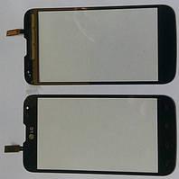 LG L70 D325 сенсорний екран, тачскрін чорний