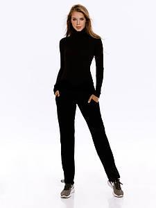 Костюм женский вязаный прогулочный AniTi  072, черный