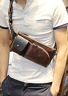 Мужская сумка банан mod.Ashtray, фото 1