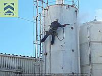 Гидроструйная очистка внутренних и наружных поверхностей водонапорной башни, пищевых емкостей