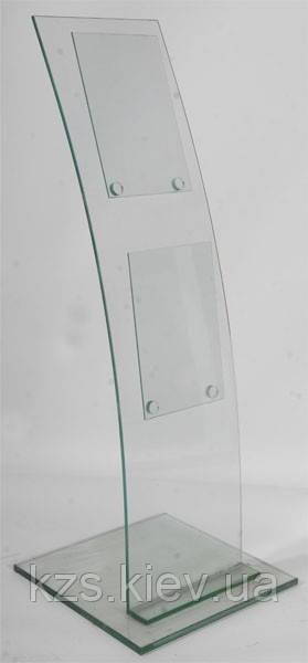 Стойка для журналов из стекла