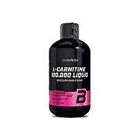 Жиросжигатель BioTech L-carnitine 100 000 Liquid, 500 ml. (ВИШНЯ)