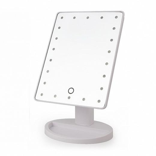 Настольное косметическое зеркало с подсветкой для макияжа Large LED Mirror