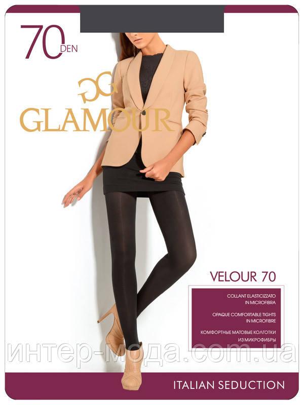 Колготки Glamour Velour 70 Den (5 Nero)