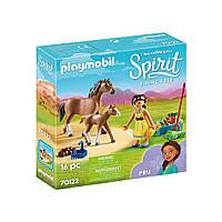 """Игровой набор """"Пру с лошадью и жеребёнком"""" Playmobil (4008789701220)"""