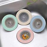 Силиконовый кухонный фильтр для раковины Supretto, фото 4