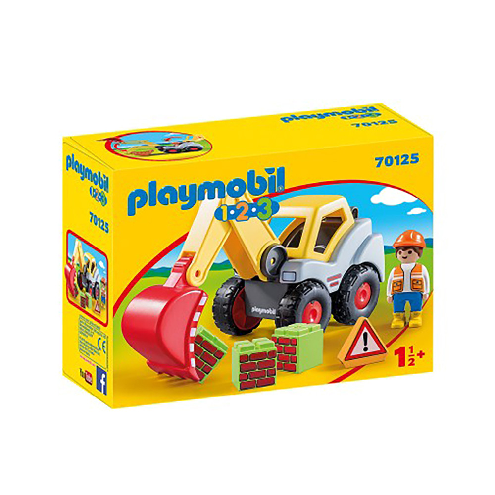 """Ігровий набір """"Екскаватор з ковшем"""" Playmobil (4008789701251)"""