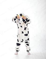 Детский кигуруми корова vN10000