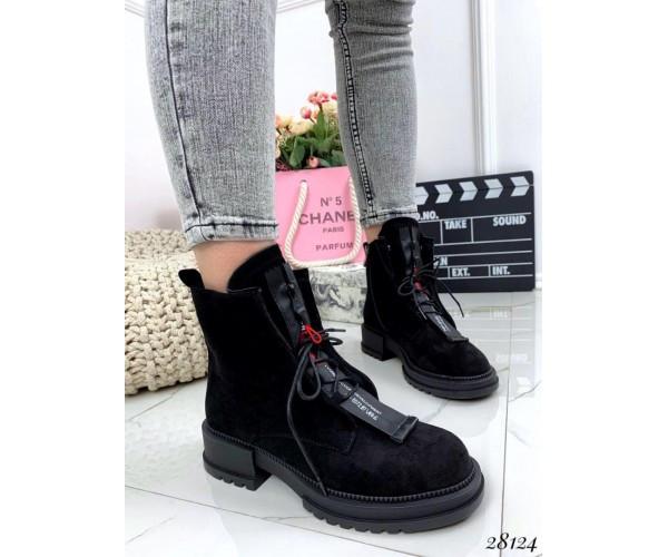 Ботинки классика на шнуровке