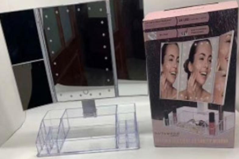 Зеркало настольное для макияжа с подсветкой USB Cosmetie mirror