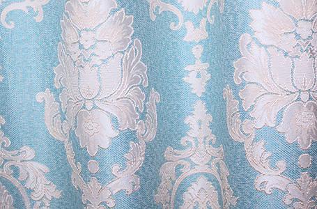 """Ткань лен коллекция """"Корона"""".Высота 2.8м. Цвет бирюзовый 456ш., фото 2"""