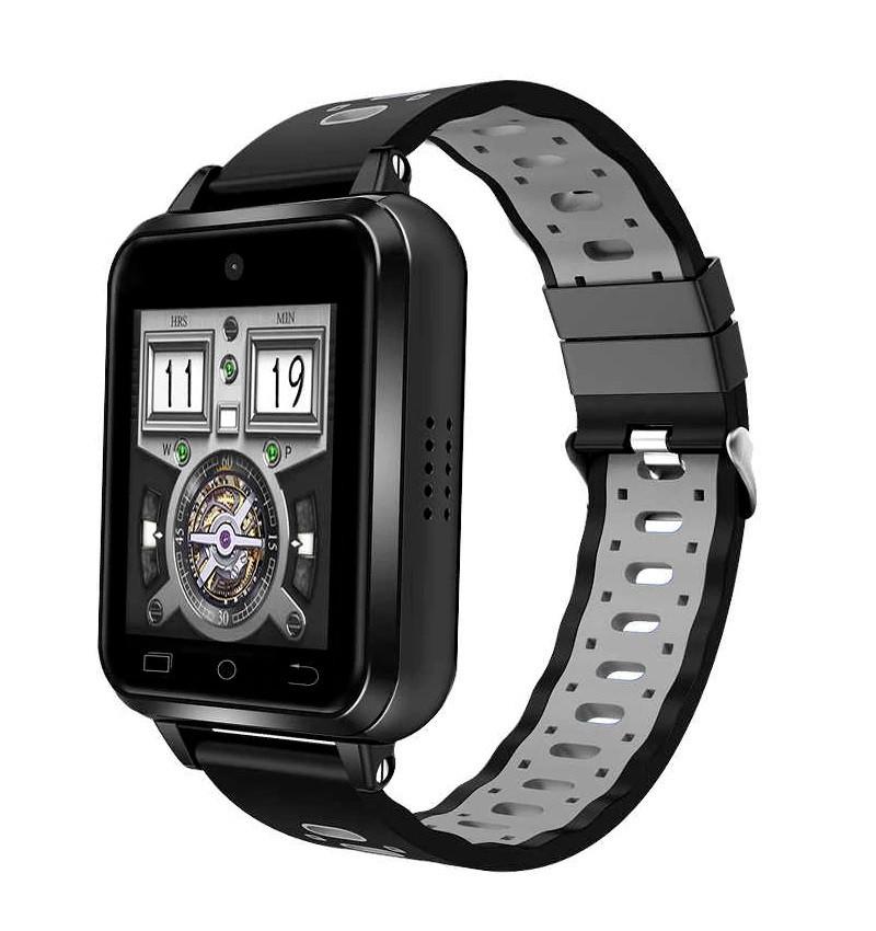 Умные часы Finow Q2 на Android 6.0 с поддержкой 4G (Черный)