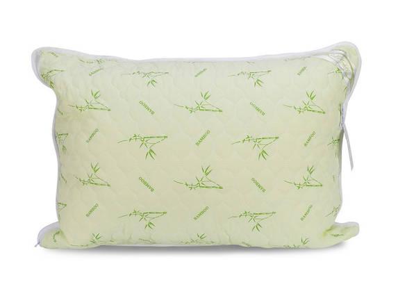 Подушка бамбуковая 70х70 стеганая, фото 2