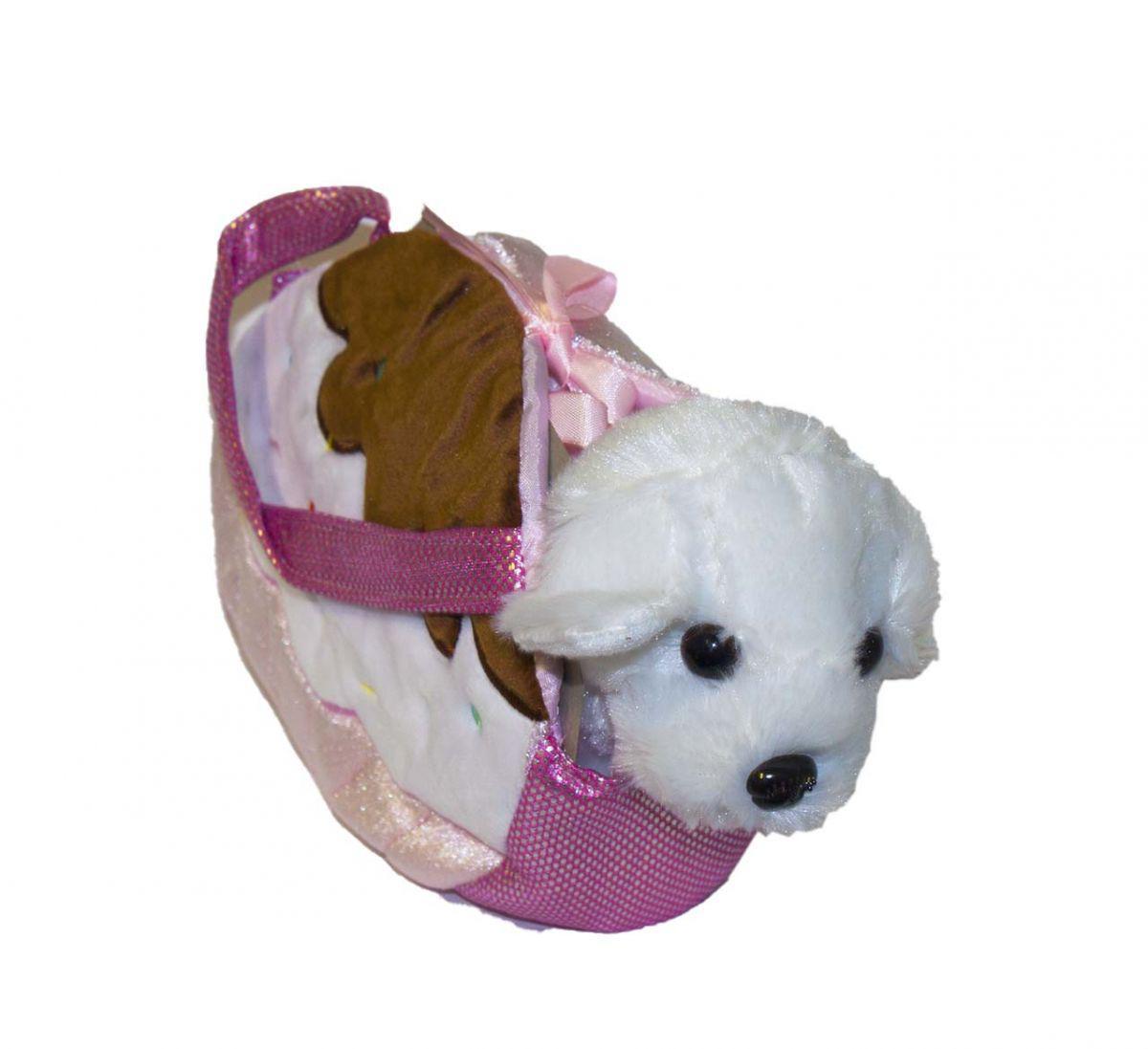 """Мягкая игрушка """"Собачка в сумочке"""