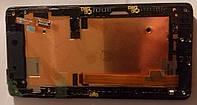 HTC Desire 600 дисплей + сенсор +рамка оригінальний тачскрін