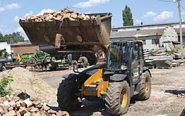 Ковш для грунта на погрузчик и трактор Завод Кобзаренка