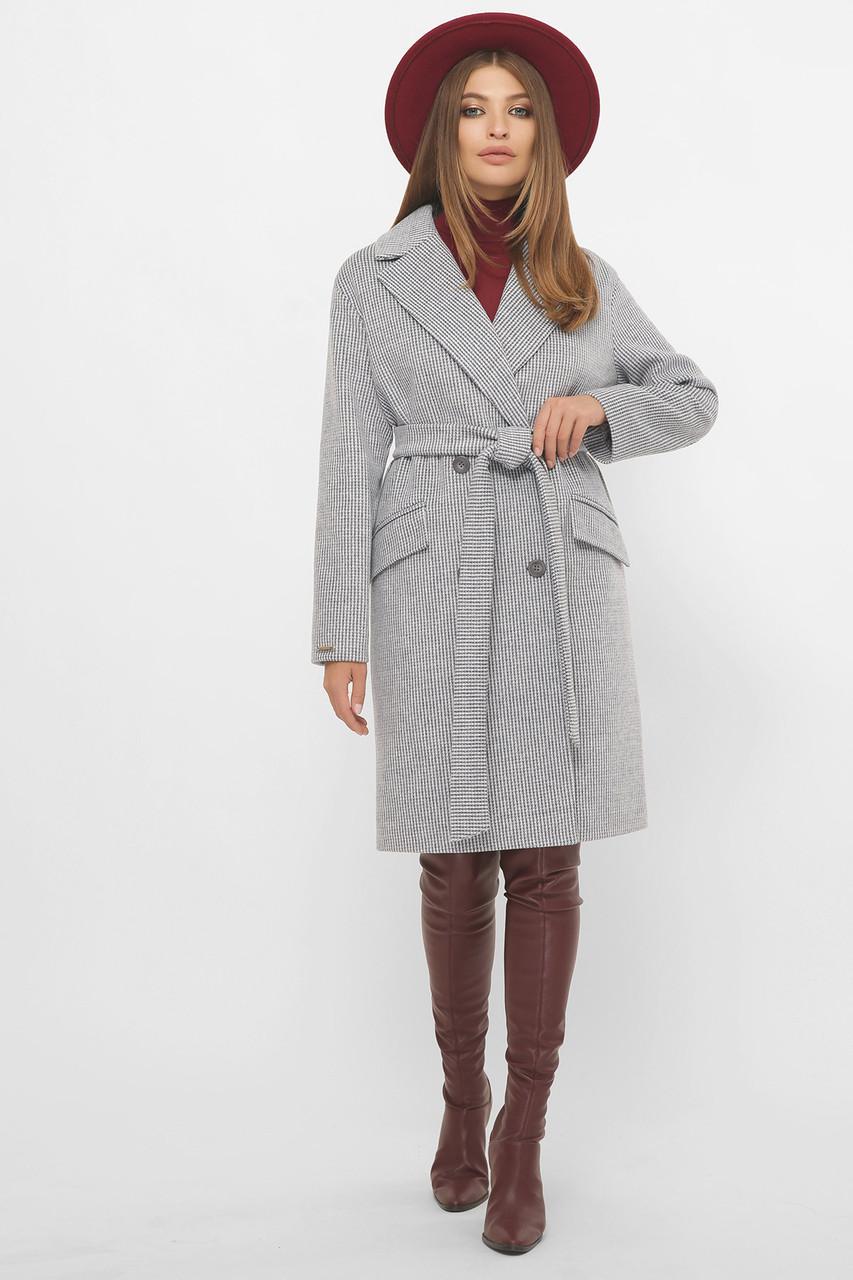 Пальто женское демисезонное светло-голубое MS-269
