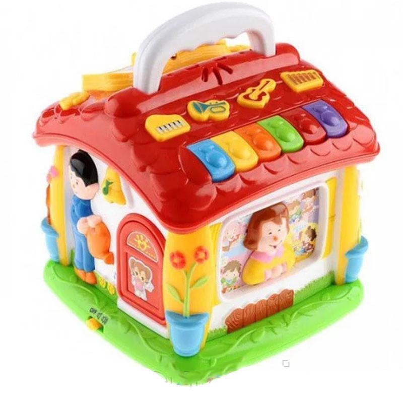 "Развивающий центр 9149 ""Говорящий домик"" со звуком Joy Toy"