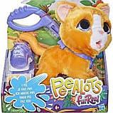 Furreal Friends Большой шаловливый питомец на поводке Котик E8949 cat Poopalots Big Wags Interactive Pet, фото 4