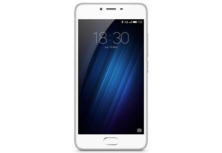 Смартфон Meizu m3s 32Gb Silver Stock А-, фото 2