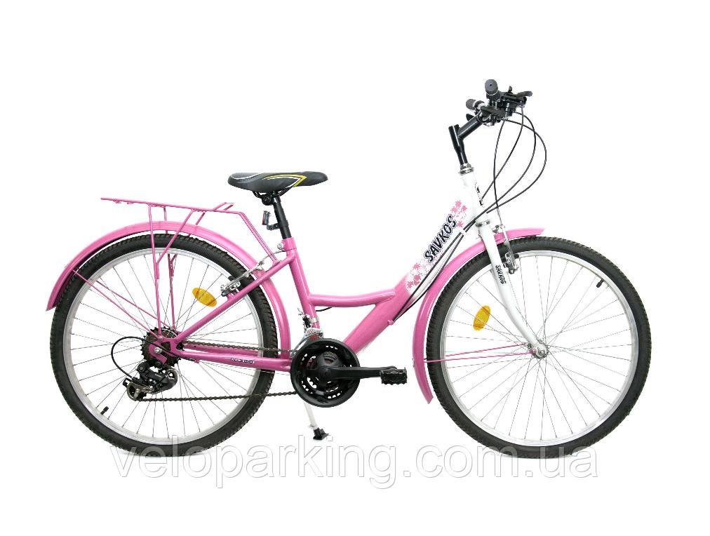 Городскjq подростковый велосипед 24 45 SH ХВЗ Харьков