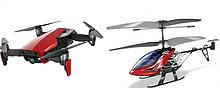 Квадрокоптеры, вертолеты и катера на радиоуправлении