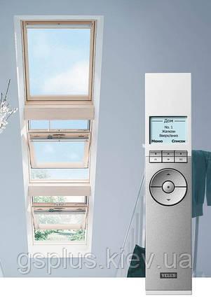 """Мансардное окно Velux GGU  Solar 007330 """"Автономное"""" белое влагостойкое 78х140, фото 2"""