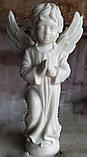 Скульптура Ангел из мрамора №89 высота 50 см, фото 3