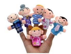 Детский пальчиковый театр семья