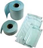 Пакеты для стерилизации  (Плоские рулоны со складкой и без складки)