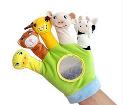 Детский театр перчатка на руку с зеркалом