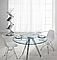 Пластиковый стул Тауэр голубой от SDM Group, хромированные ноги, фото 10