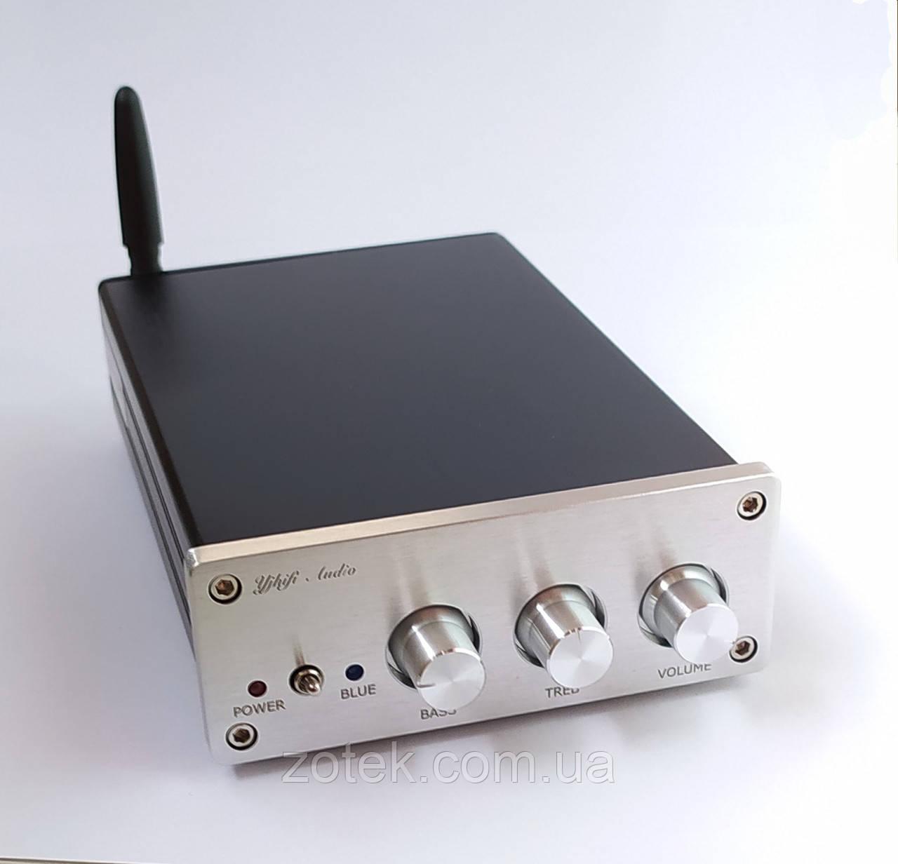 YJhifi AUDIO TPA3255 Bluetooth Усилитель звука аудио 300Вт+150Вт+150Вт 2.1 , DC 30-48В