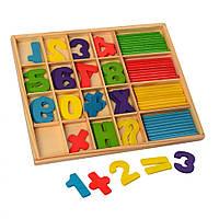 Деревянная игрушка Набор первоклассника MD 1245 (MD 1245A)
