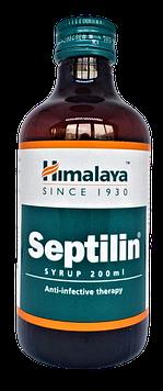 Септилин, Сиптелин сироп 200мл – природныйантибиотик, с широким спектром воздействия, стимулирует фагоцитоз